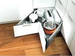 armoire en coin cuisine rangement tiroir cuisine nevel me