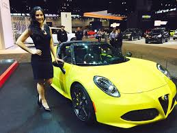 the cars of the 2015 chicago auto show and the beautiful