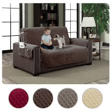 Pet Covers For Sofa by Micro Suede Slipcover Pockets Pet Dog Couch Furniture Protector