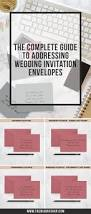 best 25 addressing wedding invitations ideas only on pinterest