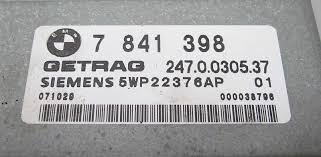 bmw e60 m5 e63 m6 smg sequential manual transmission control