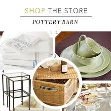 Pottery Barn Registry Event Pottery Barn Wedding Registry Ideas Shop The Store Brides