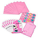 amazon com minnie mouse invitations u0026 cards party supplies