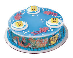spongebob cake toppers cake toppers spongebob cake toppers happy decorations