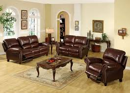finding a leather living room chair