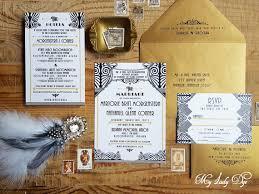 gatsby wedding invitations 100 gatsby wedding invitations deco invite nouveau