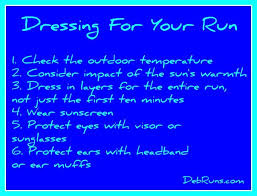 a flat runner guide to dressing for your run deb runs