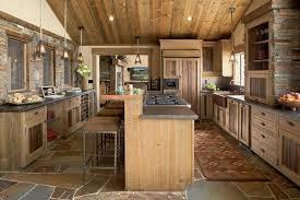 cuisine bois rustique la cuisine rustique ou l harmonie de la déco et bois