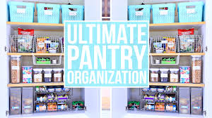 To Organize Easy Pantry Organization How To Organize Your Pantry Youtube
