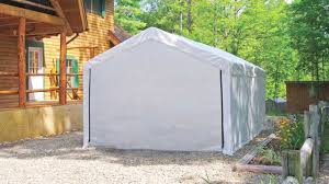 shelterlogic maxap canopy enclosure kit youtube