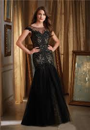 bateau illusion neckline cap sleeve black tulle lace beaded