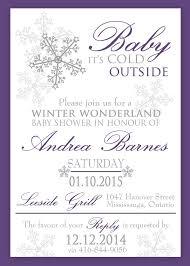 Winter Wonderland Baby Shower Winter Wonderland Baby Shower Or Baptism Invitation 0433 U2013 The