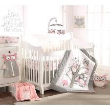 Circo Owl Crib Bedding Decoration Circo Owl Crib Bedding Baby 5 Set Pink