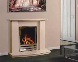 caterham austin 40 u2033 micro marble fireplace beige marfil