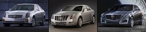 cadillac cts styles the evolution of the cadillac cts through three generation models