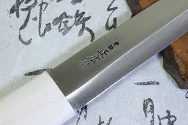 japanese carbon steel kitchen knives masahiro japanese traditional fisherman knife makiri carbon steel