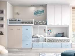 chambre fille avec lit superposé lit superposé avec rangement personnalisable f259 glicerio