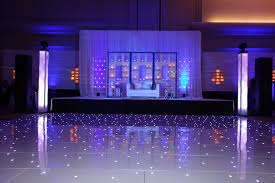 Indian Wedding Reception Themes by Beautiful Wedding Reception Decor With Our White Starlit Dance