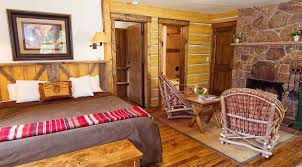 Fireplace Room by Sunset Cabin Accommodations Lodging At C Lazy U Guest Ranch