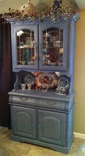 milk paint corner china cabinet my projects pinterest corner