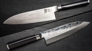shun knife shun tdm0723 premier chef s knife 6 hammered blade