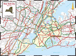 Map Of New York State by Detailed Metro Area Map Of New York City New York City Detailed