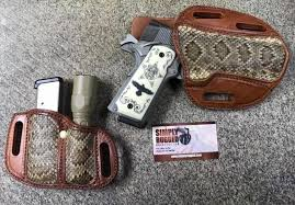 Simply Rugged Exotic Hides Holsters That Make A Statement