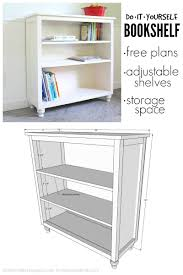 Small Bookshelf Plans Build A Simple Bookcase Best Shower Collection