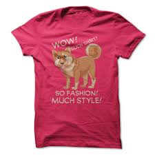 Doge Wow Meme - such shirt so fashion much style funny doge shibe meme