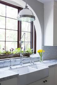Restoration Hardware Kitchen Faucet by Kitchen Sink Under Window Design Ideas