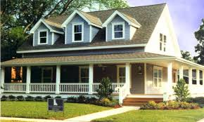 perfect country style house plans with wrap around porches single