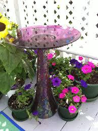 diy bird bath from repurposed vase and plate diy bird bath bath