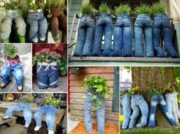 diy planters to diy fun recycled jean planter