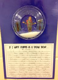 if i were trapped in a snow globe use a plastic bowl or plate