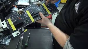 how to repair gm instrument cluster speedometer gauge