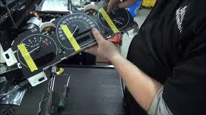 how to repair gm instrument cluster speedometer gauge