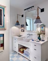 Coastal Bathroom Vanity Jacksonville Retro Bathroom Vanity Beach Style With Fixtures
