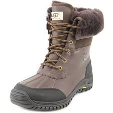 ugg s adirondack boot ii leather s ugg adirondack boot ii chocolate waterproof leather water