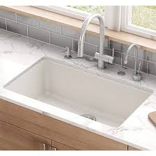 Granite Undermount Kitchen Sinks by Kubus Large Single Bowl Undermount Kitchen Sink Made Of Granite