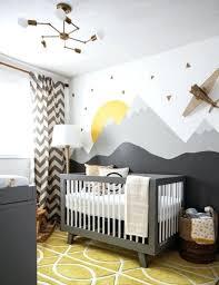chambre bébé et gris couleur chambre bebe 0 chambre d enfant gris jaune comment
