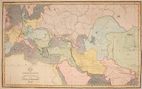 Map Of United States 1820 by File Map Of Overland Route From India To Britain Jpg Wikimedia