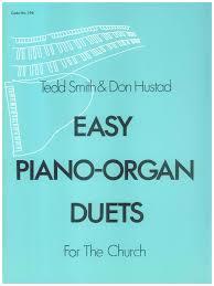 easy piano organ duets publishing company