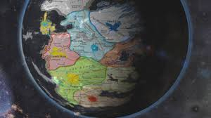 Map Of Westeros World by The Known World Of Game Of Thrones Westeros Youtube