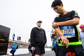 The Blind Side Running Time How Technology Helped A Blind Athlete Run Free At The New York