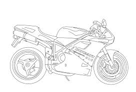 new motorcycle coloring page 75 2244
