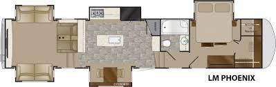 heartland 5th wheel floor plans lm phoenix heartland rvs