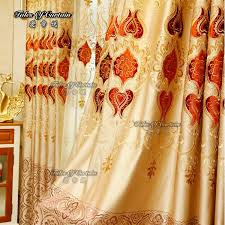 Sale Ready Made Curtains Sale Ready Made Curtain With Beautiful Peony Embroidery