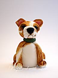 bulldog cake topper personalised cake toppers prepared with