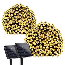 qedertek solar string lights amazon com qedertek 2 pack solar lights outdoor 72ft 200 led
