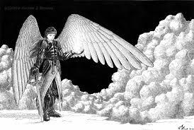 warrior angel by amarynceus on deviantart